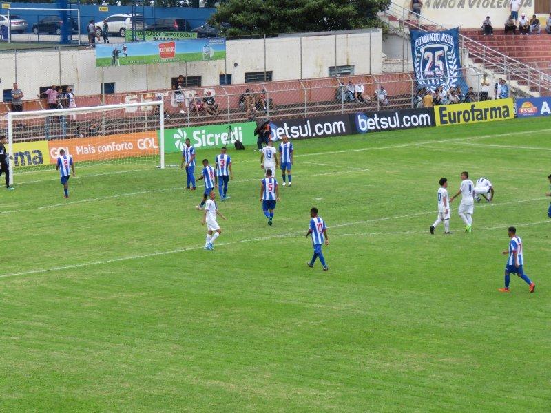 Nacional 1x3 São Caetano - Copinha