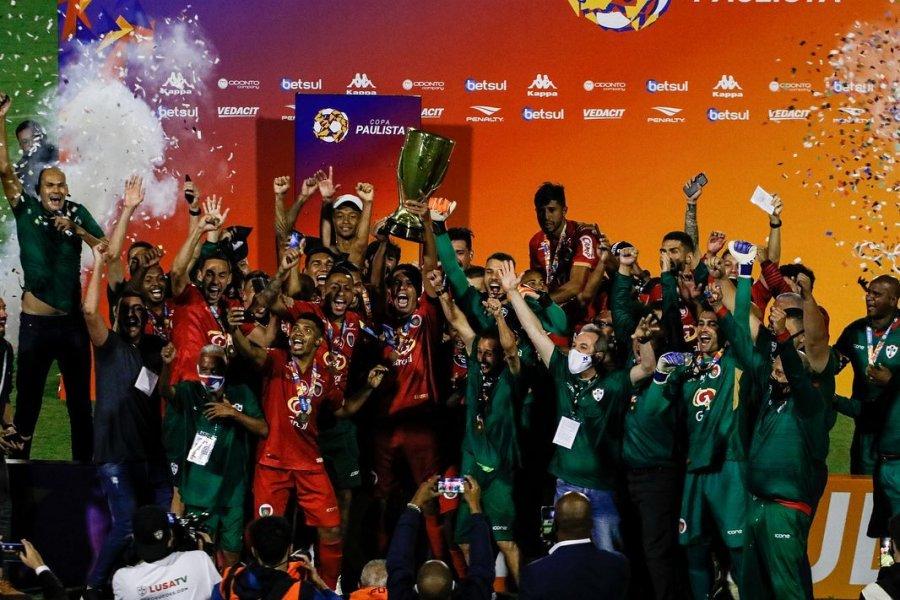 Portuguesa Campeã da Copa Paulista